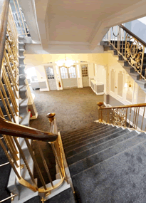 Grand Double Staircase at Wallsend Town Hall