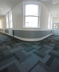 Upper Corridor at Wallsend Town Hall Business Centre