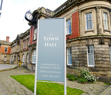Guests & Staff park free at the Town Hall